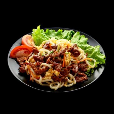D5 Nouilles Sautées aux crevette et légumes